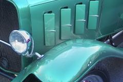 Antique car show, Bastrop, Texas